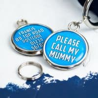 Personalised Dog ID Tag - Please Call My Mummy